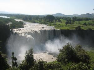 Cataratas Nilo Azul