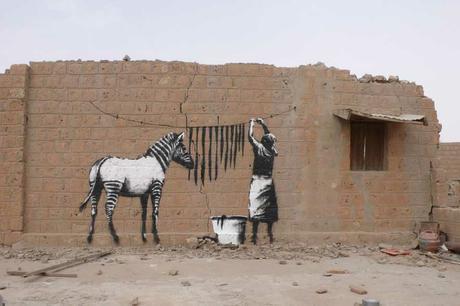 Bansky en África http://www.graffitisouthafrica.com/
