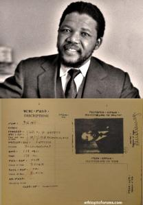 During his stay in Ethiopia, Nelson Mandela received an Ethiopian passport under the alias David Motsamayi.