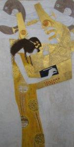 Friso de Beethoven. Gustav Klimt